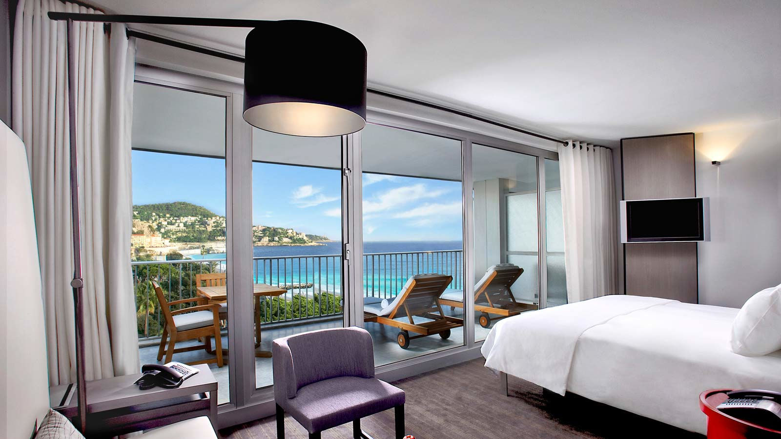 Camera Executive Vista Mare e giardini in Le Meridien Nice