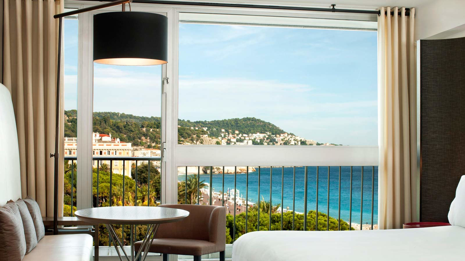 Deluxe Room Gardens and Sea View in Le Meridien Nice